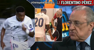 Perez reveals Vinicius Not for sale; You can't buy him