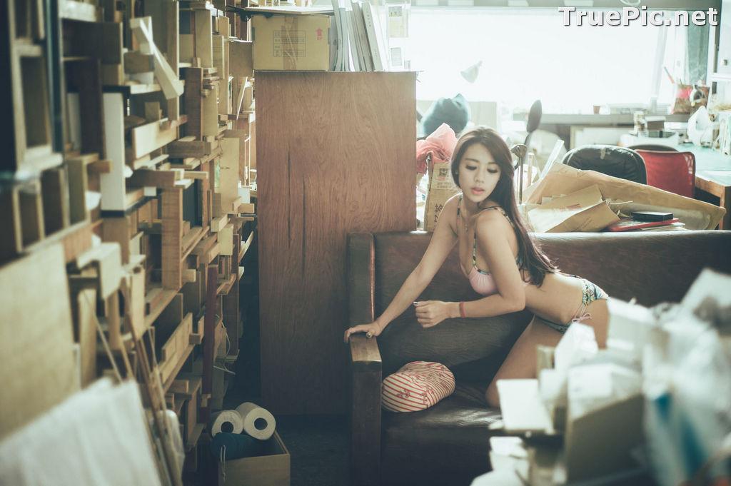 Image Taiwanese Model - 魏曼曼 (Amanda) - Bikini In The Room - TruePic.net - Picture-10
