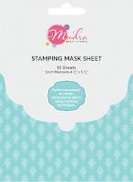 Image result for masking sheet mudra craft stamps