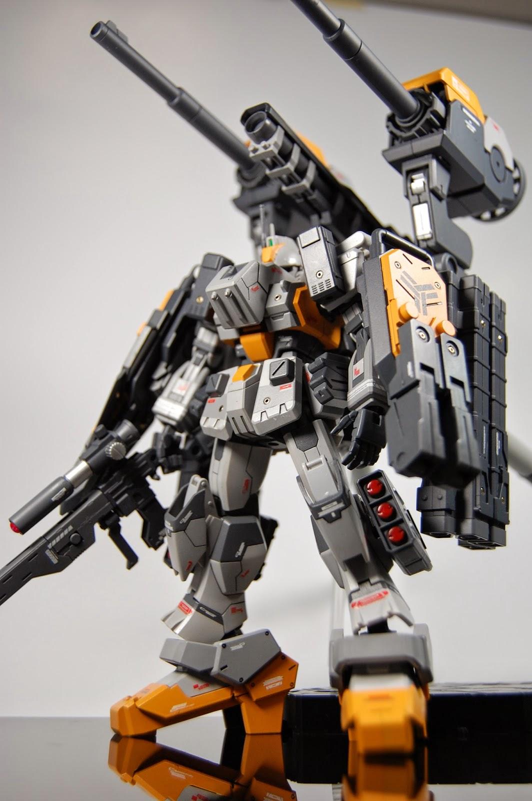 HGUC-Ez-8, Gundam HG kustom, contoh gundam kustom, gundam custom build HG, HG custom build, gundam hg 144 custom indonesia,