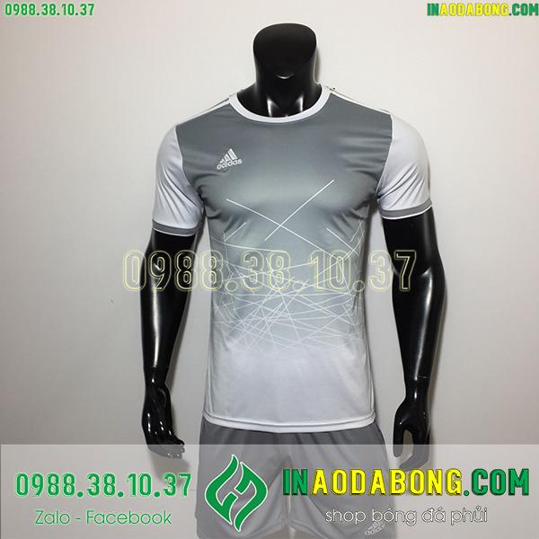 Áo không logo adidas Dyba màu xám