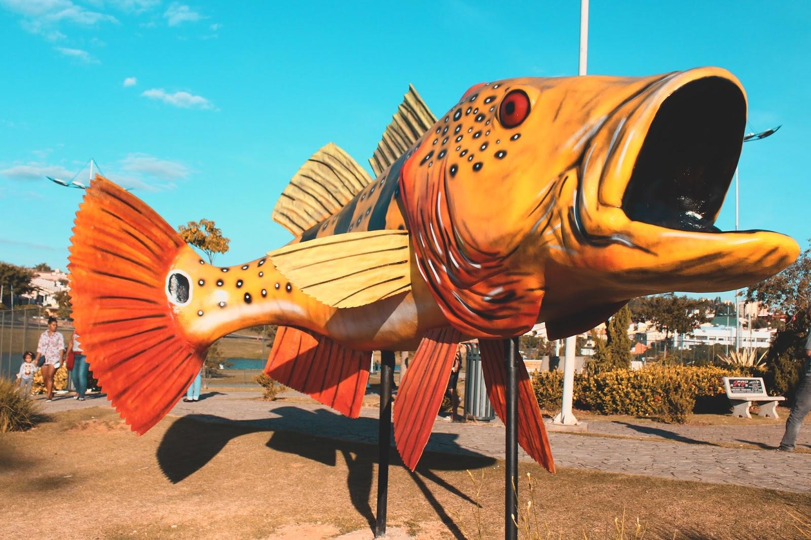 peixe gigante parque ecológico