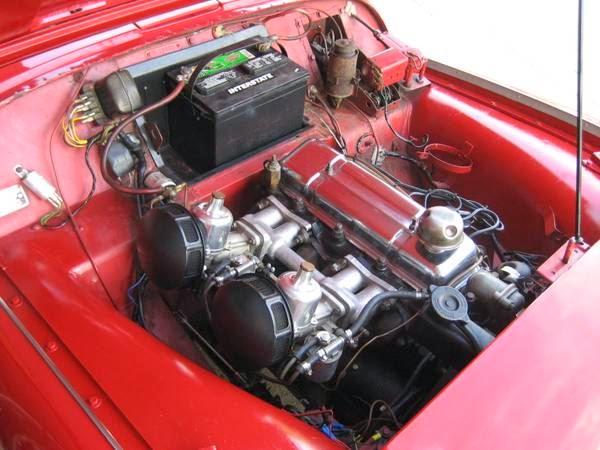 1960 Triumph Tr3 Roadster Auto Restorationice