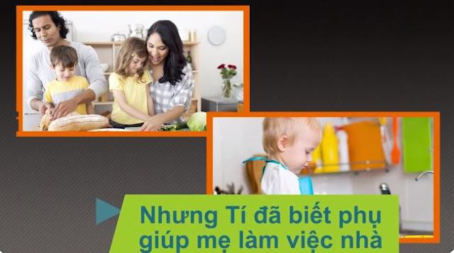 Khoá học dạy trẻ làm việc nhà