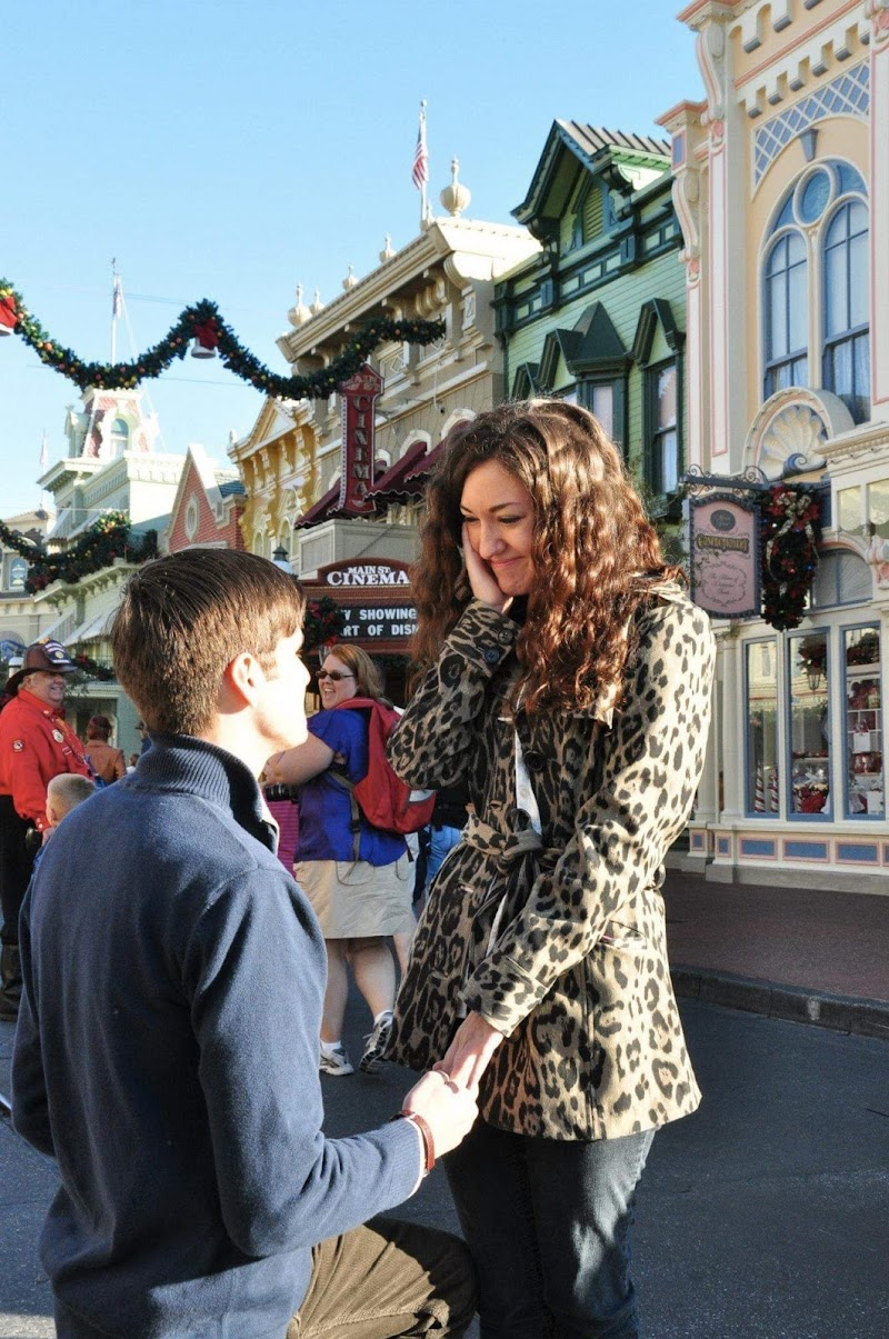 """""""Will You Marry Me?"""" Getting Engaged at Walt Disney World"""
