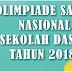 Soal Olimpiade OSN IPA SD tingkat Kecamatan tahun 2018