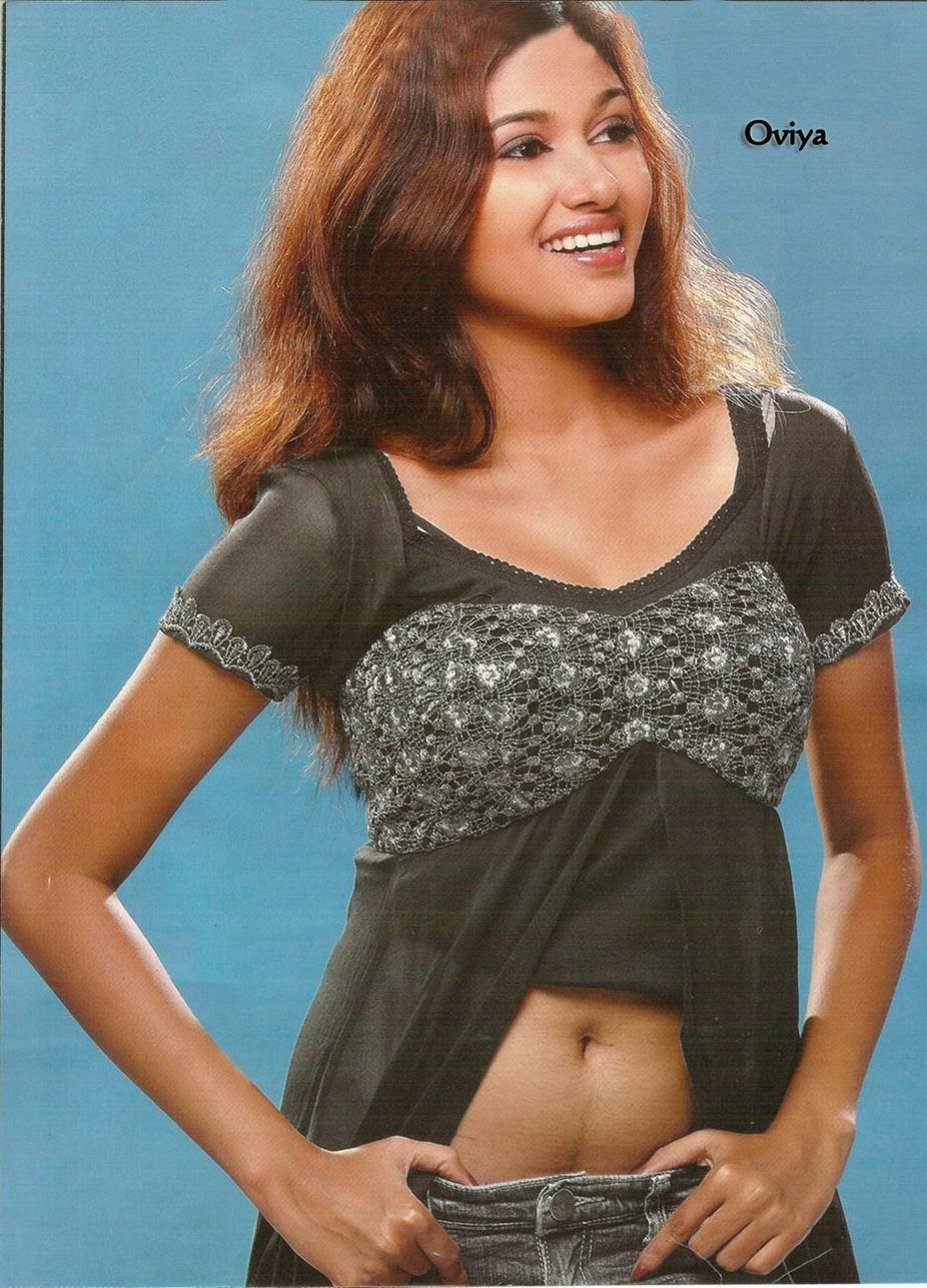 Indian Actress Kalavani Tamil Actress Oviya Boobs Press -1615