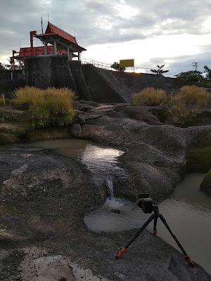 foto landscape di sungai kampili