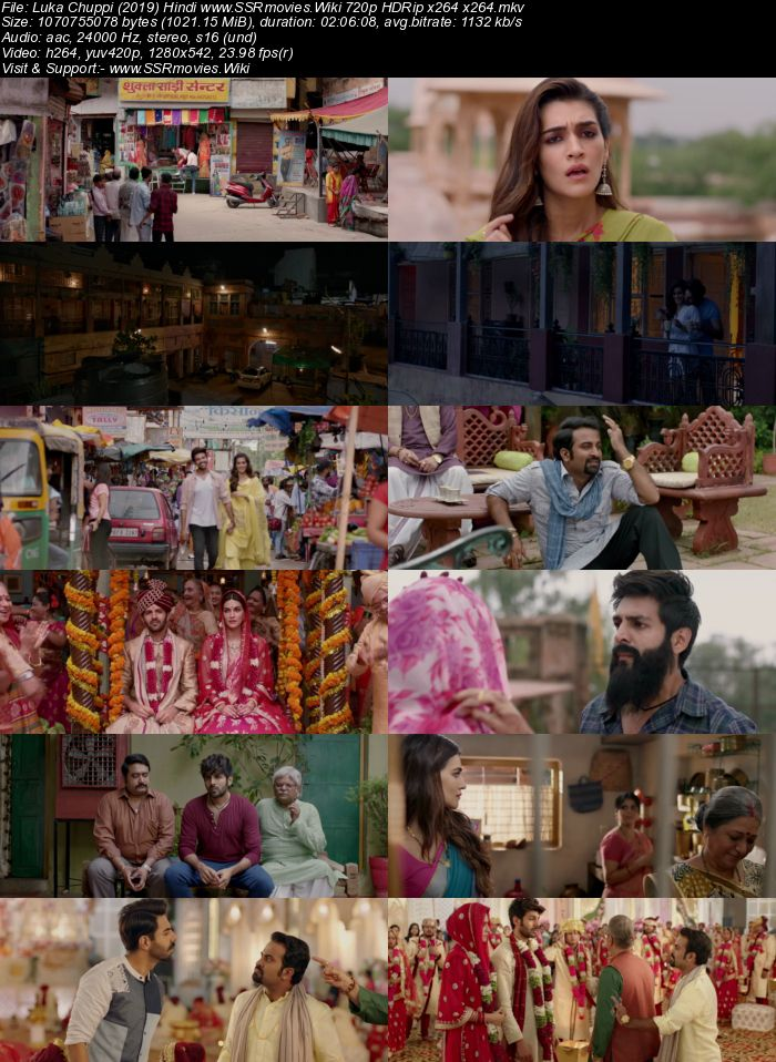 Luka Chuppi (2019) Hindi 720p HDRip x264 x264 1GB Movie Download