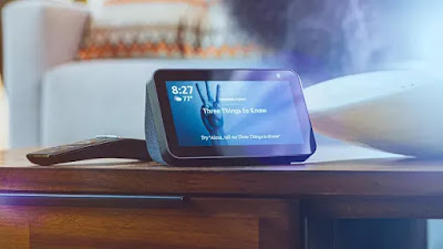 amazon echo show, amazon echo show 5, amazon new technology gadgets, Amazon uses, Echo Show 5 $89.99, echo show 5 review, new products on amazon, Show 5, technology news, good deals,