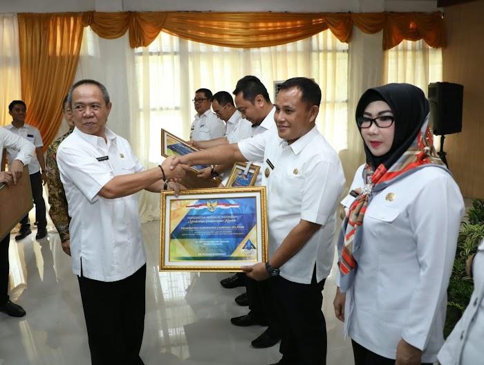 Pemerintah Kabupaten Lampung Selatan Kembali Raih WTP Dari BPK.