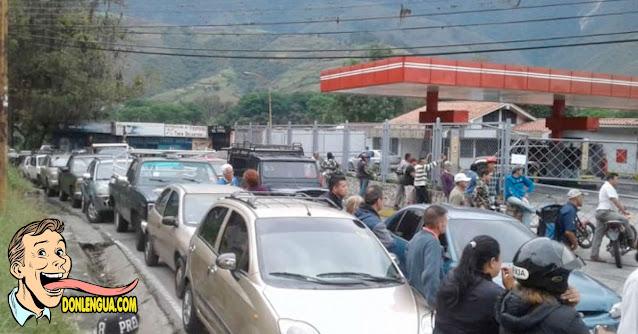 Dos policías se cayeron a tiros por un lugar en la cola para la gasolina en el Zulia