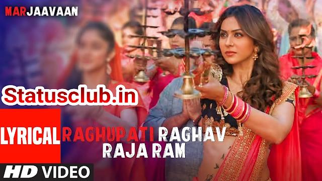 Raghu Pati Raghav Raa Ram Lyrics - Marjaavan | Riteish D