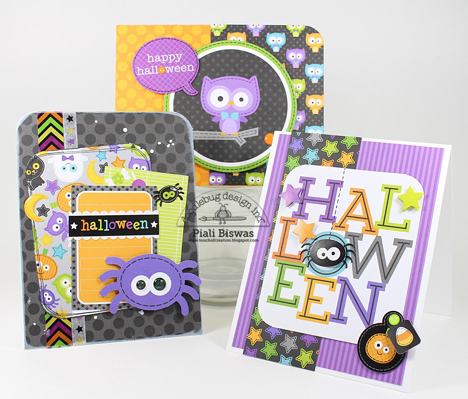 Doodlebug Design Inc Blog October 31st Collection Halloween Cards