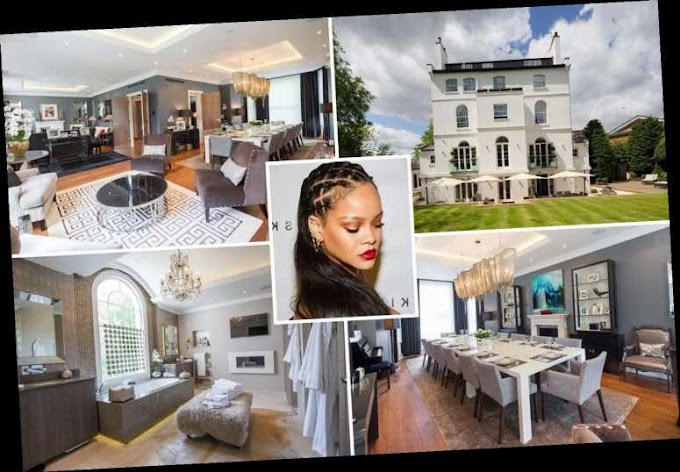 Rihanna places stunning London mansion up for sale for '£32million' (photos)