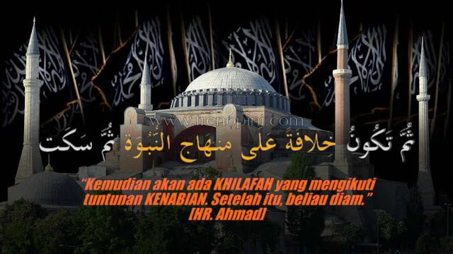 Umat islam menyambut gembira bahwa masjid Hagia Sophia telah kembali ke fungsi asalnya, yaitu sebagai masjidnya kaum muslimin. Dulunya masjid tersebut di masa sekulerisasi Turki telah dirubah menjadi museum oleh Mustafa Kamal. Oleh karena itu setelah menjadikan masjid tersebut kembali ke asalnya, maka penting juga mengembalikan sekulerisasi Turki kepada asalnya yaitu Khilafah Islamiyah