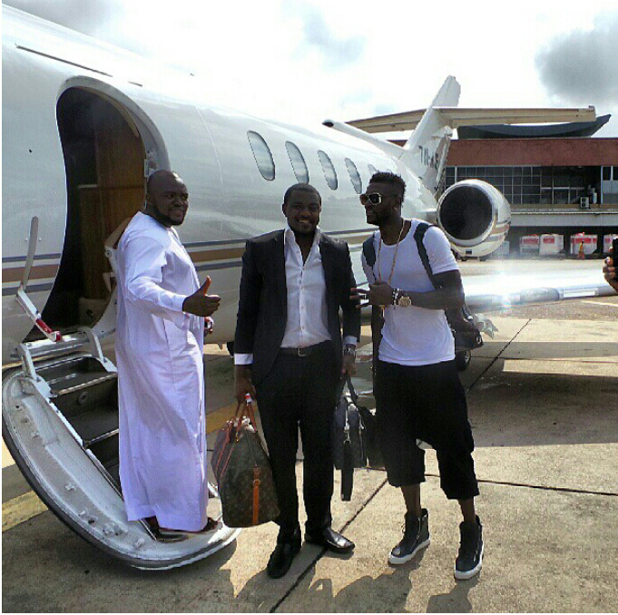 Image result for emmanuel sheyi adebayor's private jet