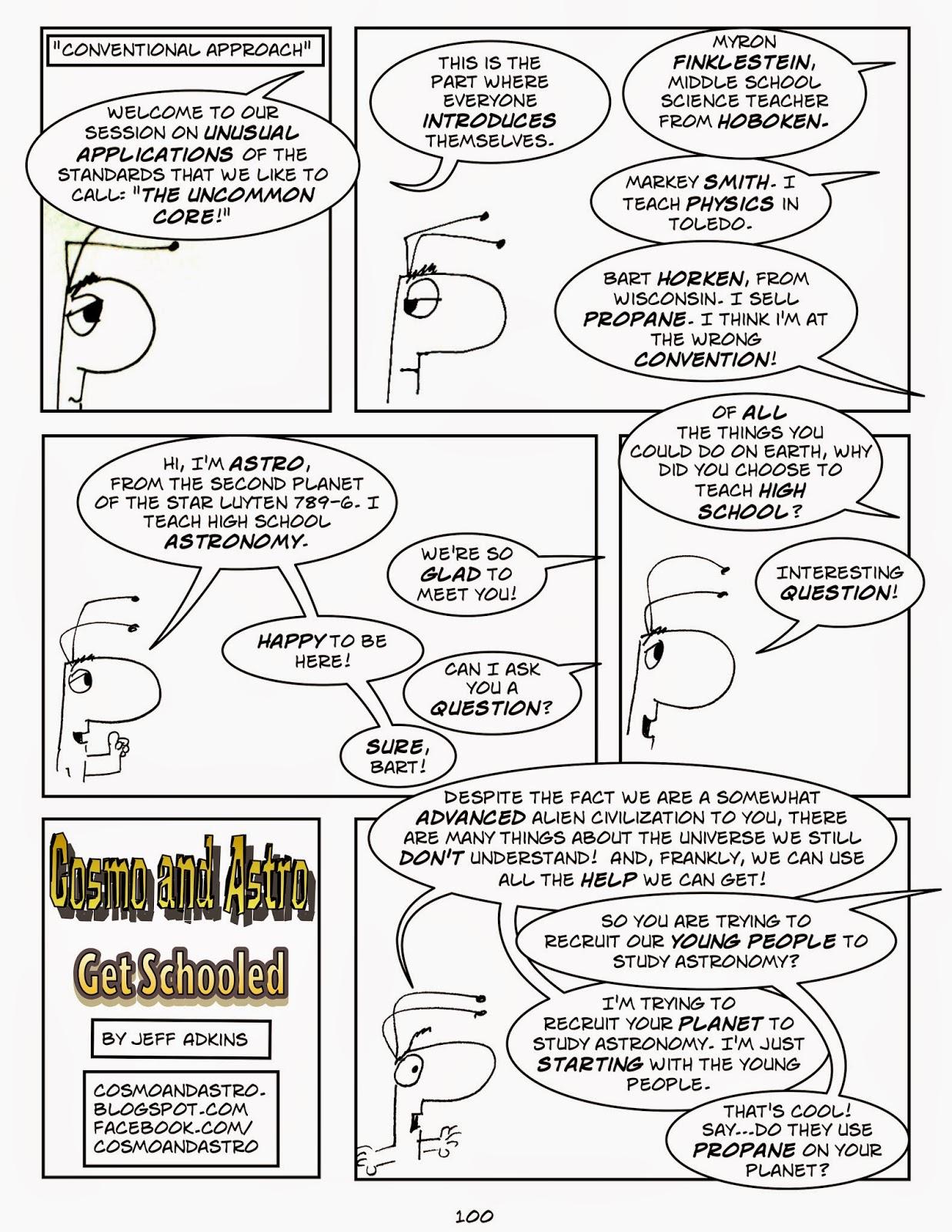 Cosmo and Astro Get Schooled: Episode 100: