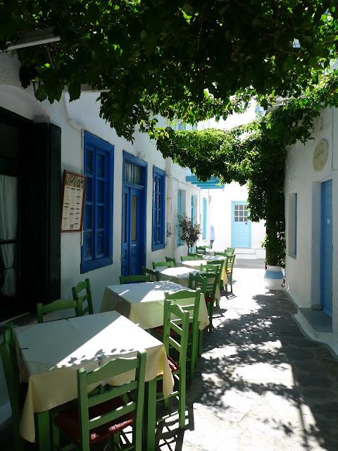 Stolica wyspy Milos/Capital of Milos island