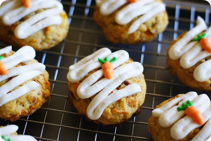 carrot cake cookies ♥ bakeat350.net