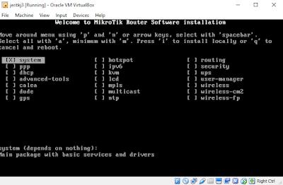 Cara Instal Mikrotik Di Virtual Box Lengkap Beserta Gambar