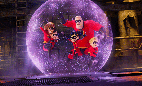 The Incredibles is back to save the world in INCREDIBLES 2 (2018)