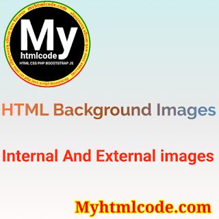 HTML Background Images