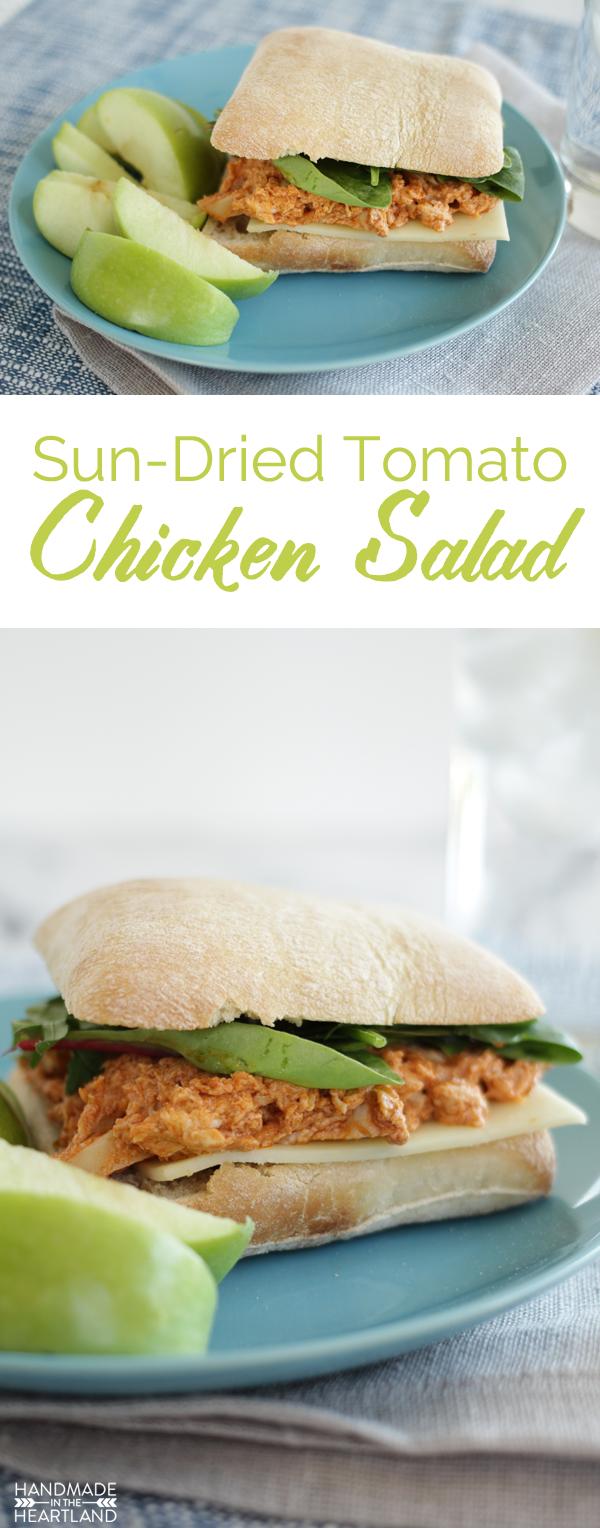 Sun-dried Tomato Chicken Salad Sandwich