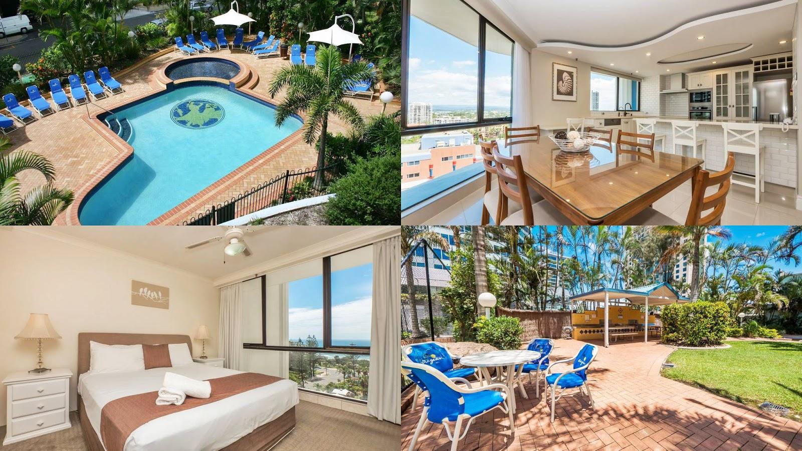 黃金海岸-住宿-推薦-飯店-酒店-旅館-民宿-公寓-愛琴海度假公寓式酒店-Aegean-Resort-旅遊-澳洲-Gold-Coast-Hotel-Apartment-Australia