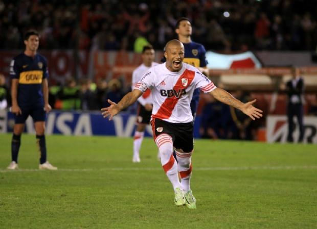 Resultado de imagen para river 1-0 boca libertadores 2015