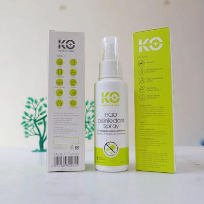 manfaat KO Virus Disinfectant Spray