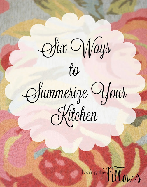 summer kitchen, kitchen lighting, kitchen accessories, kitchen rug, clean kitchen