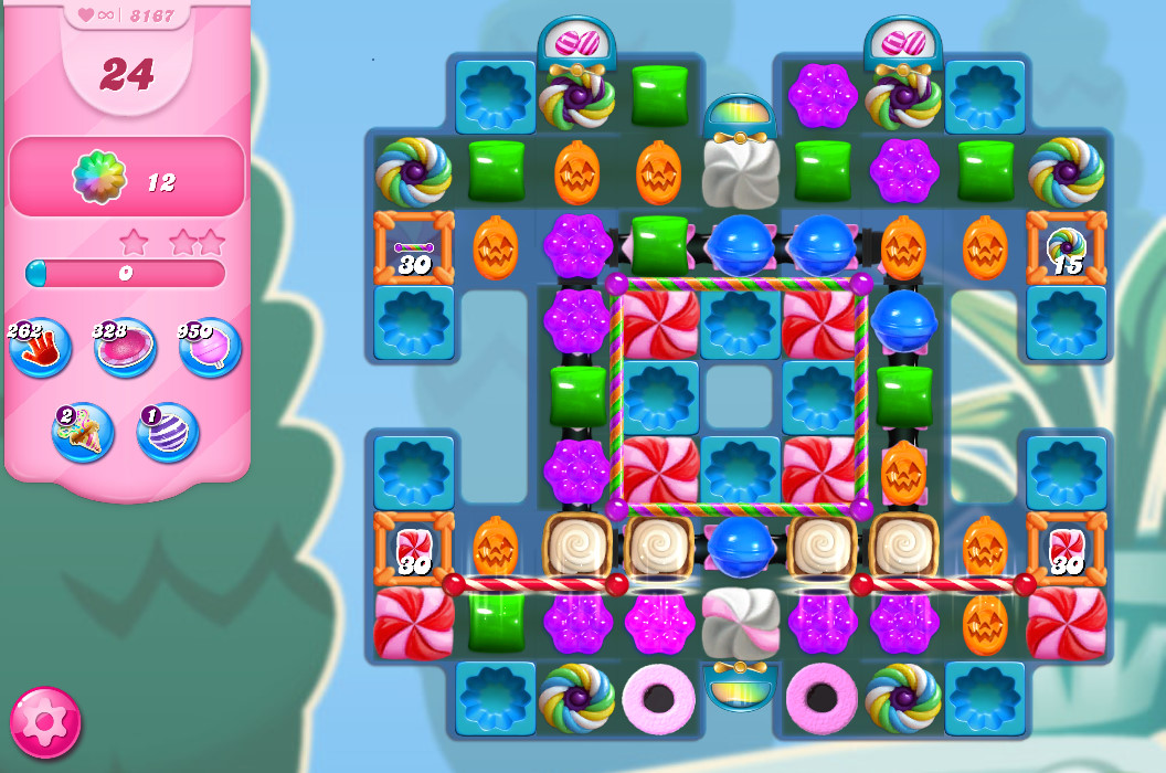 Candy Crush Saga level 8167