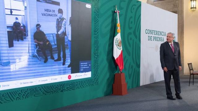 Eficaz, operativo de distribución de vacunas a hospitales COVID de la República: AMLO. Presidencia