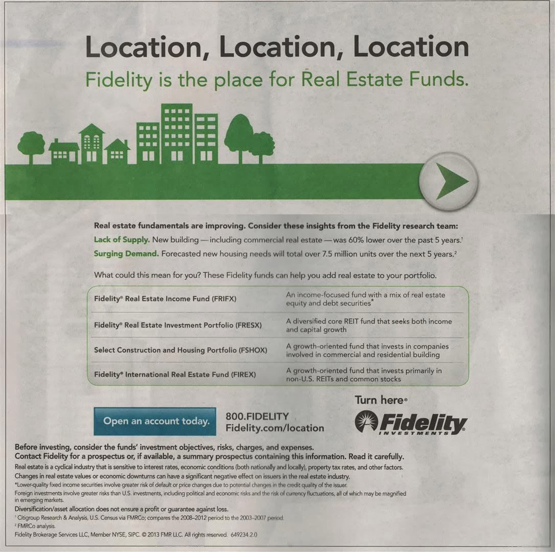 Ad Of Fidelity Real Estate Mutual Funds Mepb Financial