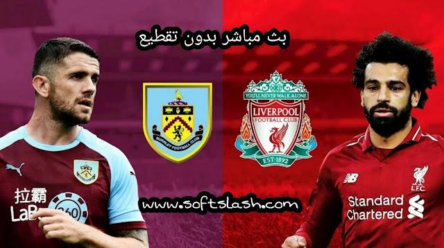 بث مباشر Burnley vs Liverpool بدون تقطيع بمختلف الجودات