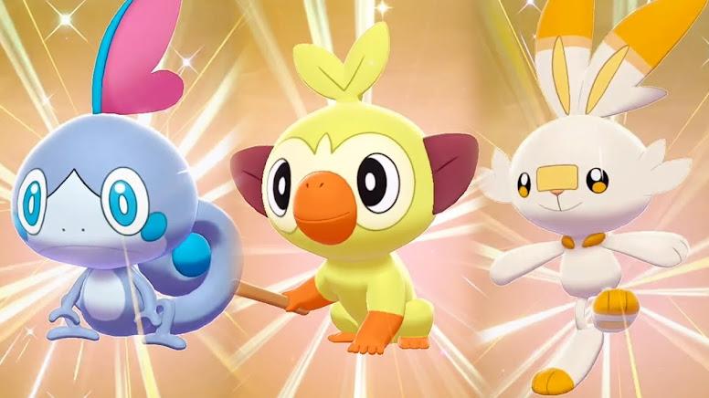 Pokémon Shiny Sword e Shield