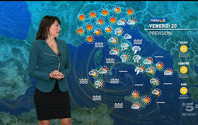 Stefania Andriola foto meteo oggi 20 novembre 2020
