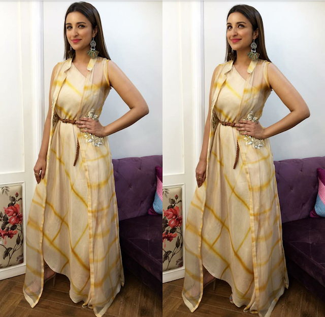 "Parineeti Chopra's Stylefile For ""Meri Pyari Bindu"" Promotions"