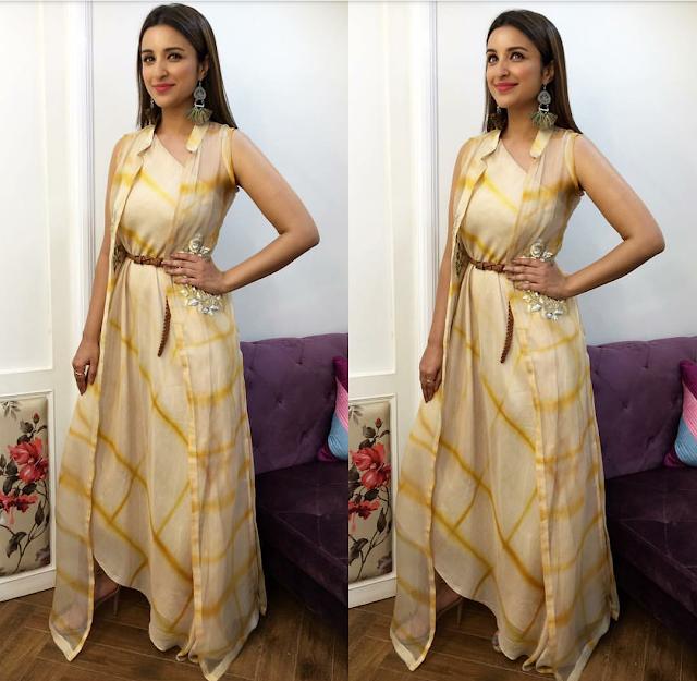 "Parineeti Chopra's Stylefile For ""Meri Pyari Bindu"" Promotions"