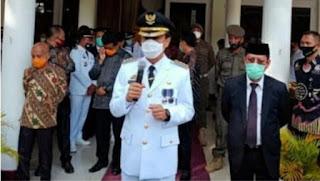 PJ Walikota Makassar Meminta Media Dan Seluruh Komponen Melawan Corona