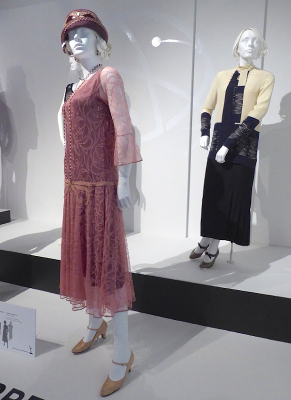 Rose and Lady Mary Downton Abbey costumes