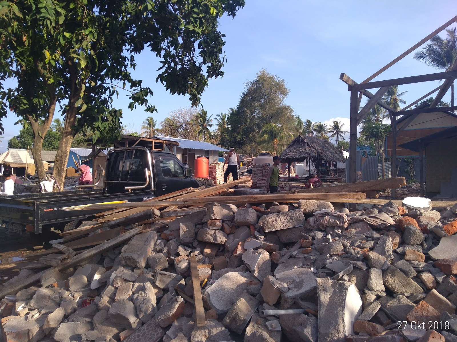 Minim Pemberitaan, Kondisi Korban Gempa Lombok Miris dan Memprihatinkan
