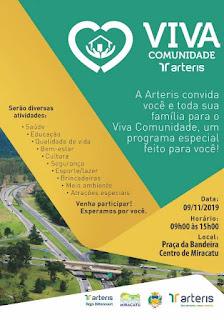 'Viva Comunidade' oferece serviços gratuitos em Miracatu