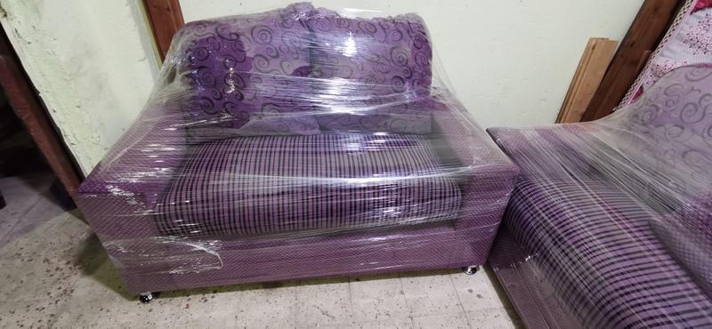 أنتريه مودرن مستعمل إستعمال خفيف بحاله الجديد أثاث مستعمل للبيع في القاهرة المطرية 6