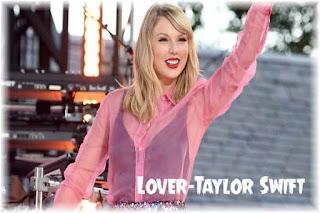 Lover-Taylor Swift-Lyrics Poster