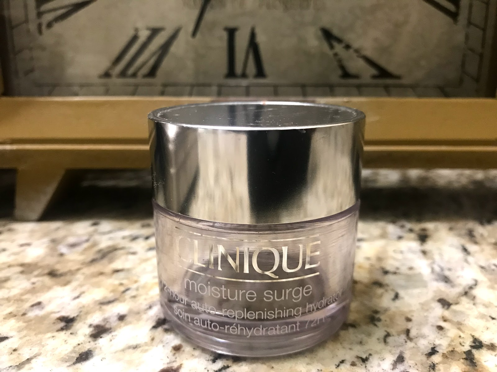 Image: Empty Clinque Moisture Surge . Tangie Bell is sharing her skincare empties to motivate and inspire