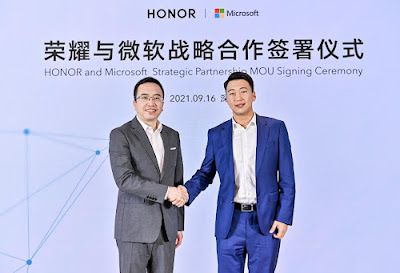 Honor amplía su asociación estratégica con Microsoft