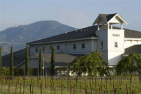 The Vineyard property and cellar of Twomey in Sonoma County, California