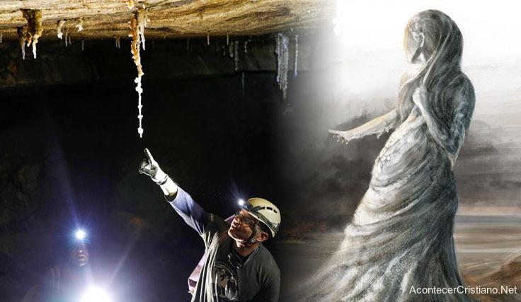 Descubren cueva de sal en Israel